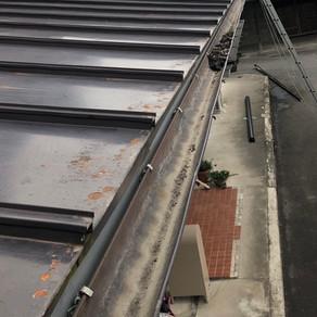 雨樋の修理 紫波町 高強度の樋受け金具へ交換