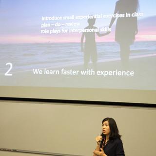 Keynote by Professor Suzanne So