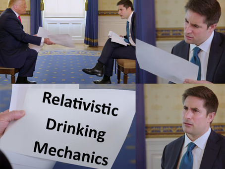 Relativistic Drinking Mechanics