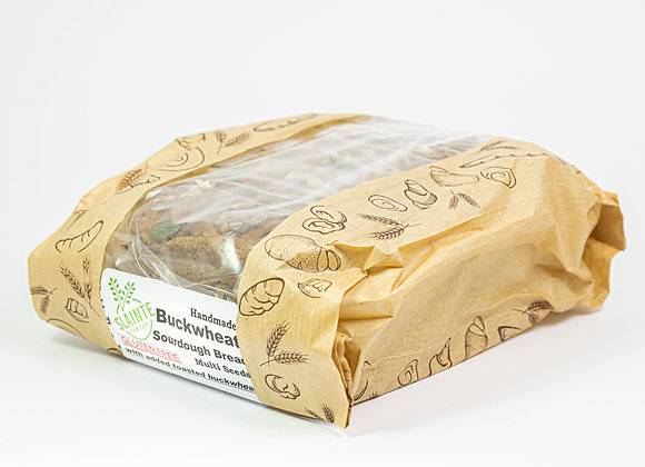 Sourdough Buckwheat Loaf