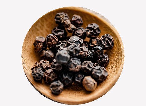 Whole Black Peppercorns - 80g