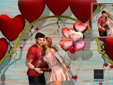 ..::Chloe Poses::.. Valentine's Day - Full Set