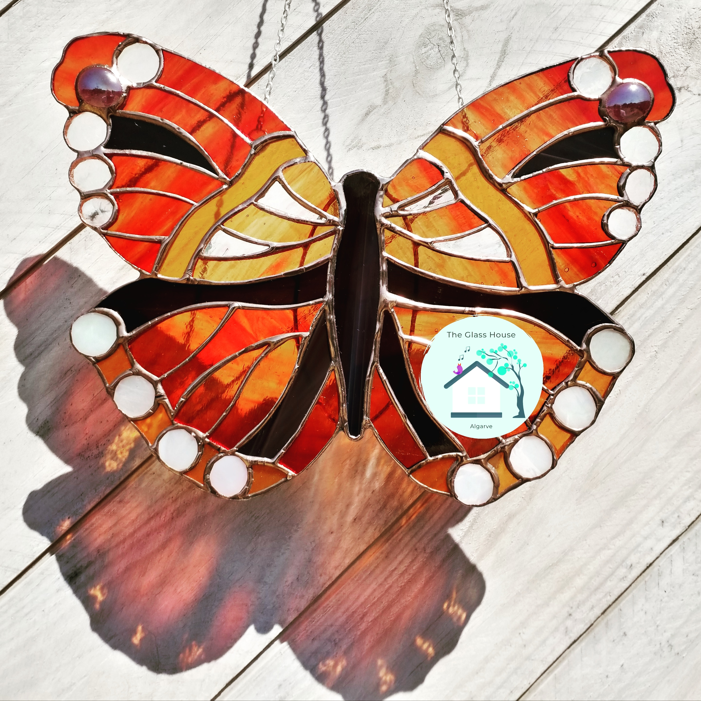 Red Admiral , approx 20 cmx 23 cm