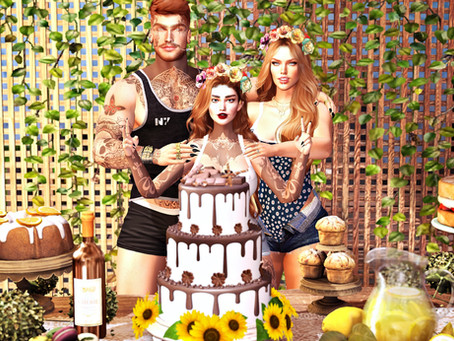 Chloe Poses:. - Happy Birthday