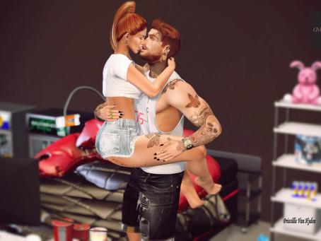 .:;Chloe Poses::. - Romantic Kiss of Couple