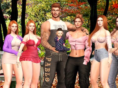 .::Chloe Poses::. - Lovely Family Reunion