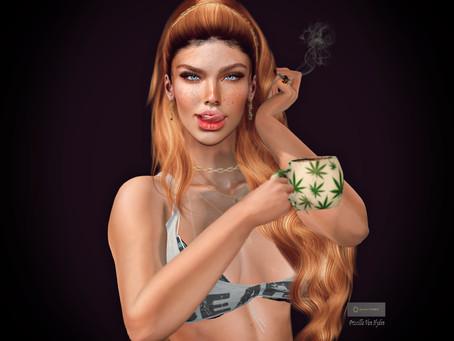 Quinn Poses - Coffe and Cannabis