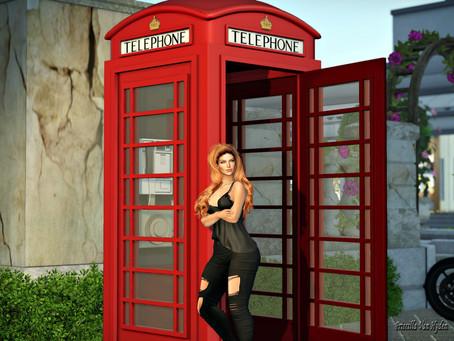 {Bob} Magic Telephone Booth (Multi LM) / .::Chloe Poses::. - Waiting for you