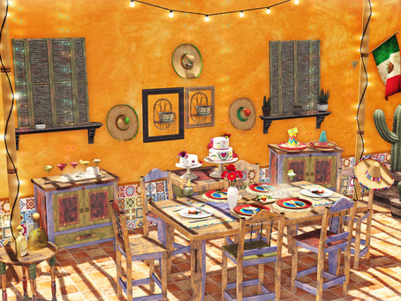 <Aphrodite>Mexican fiesta & Cantina complete!