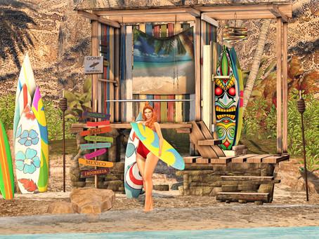 [Ik] Surf Shelter Set