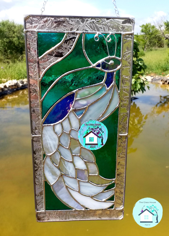 Peacock panel . 60 euros