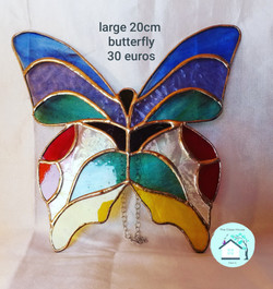 Large butterfly 20cm.