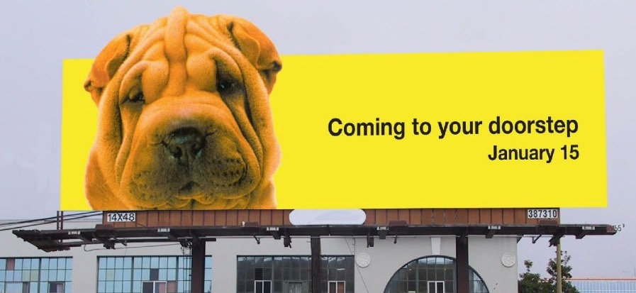 Verizon Good Boy Outdoor Ad