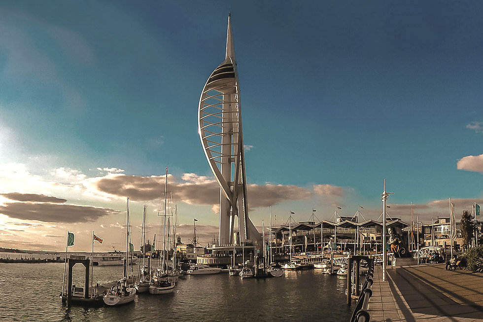 Portsmouth Sound Test Hampshire