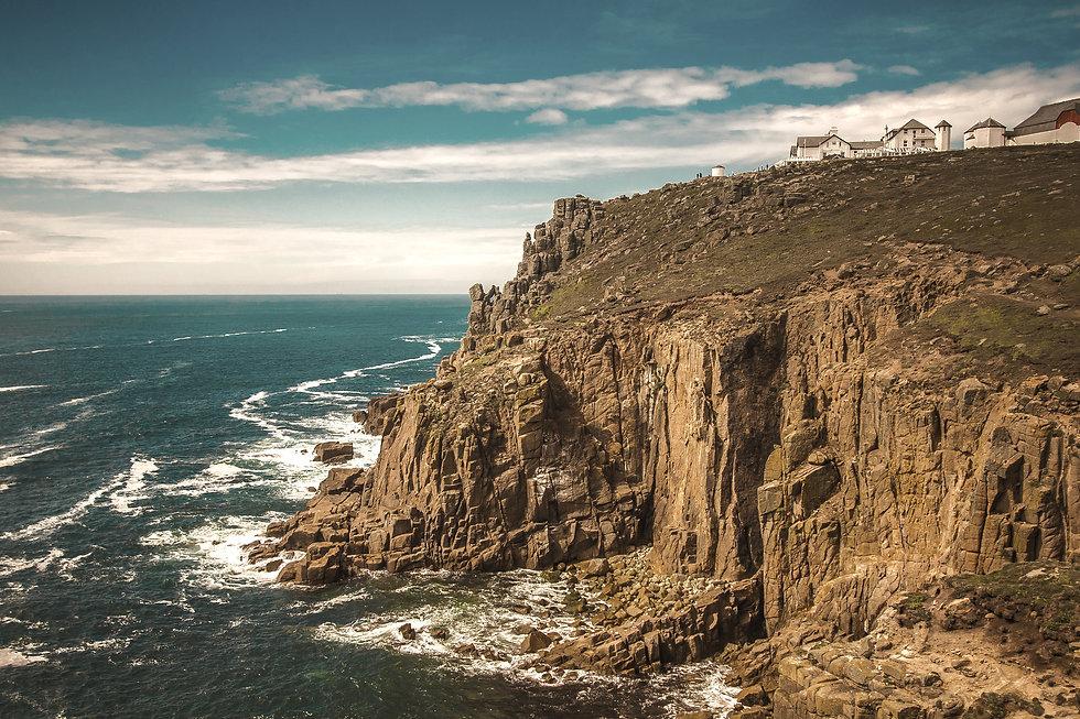 Lands End Coastline Sound Testing