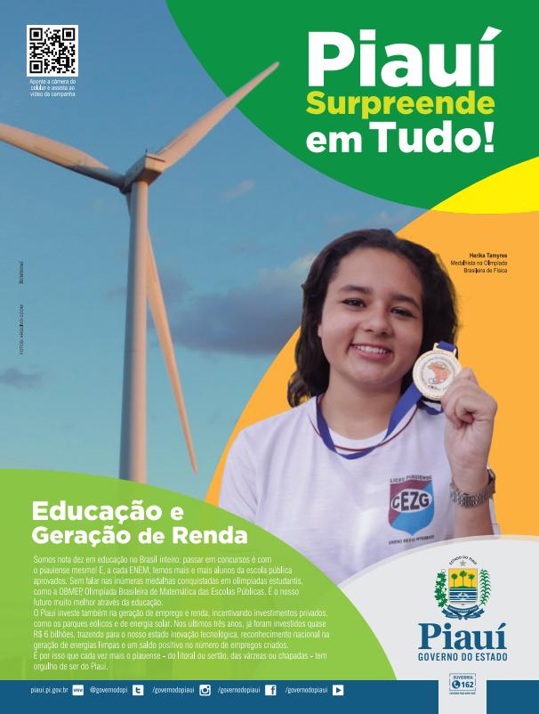 Anúncio de Revista - Dia do Piauí