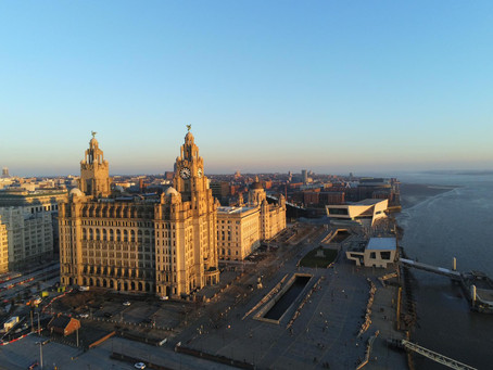 A journey  through Liverpool as we exit lockdown...through the eyes of DB Tours  Liverpool