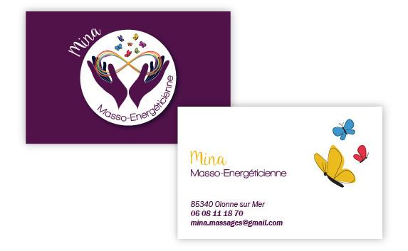 Carte de visite Mina Masso-Energéticienne