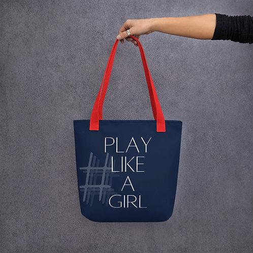 'Play Like a Girl' music bag