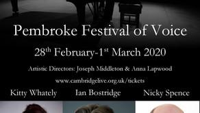 Pembroke Festival of Voice
