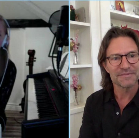 4th virtual rehearsal with Eric Whitacre