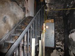 Internal fire damage