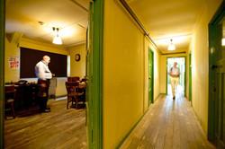 Interior of Hut 6