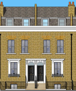 Mansard and reinstated features
