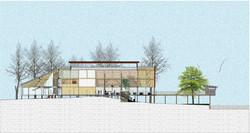 Building would float over contours