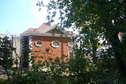 East facade