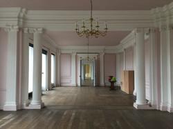 Contemporary reception room