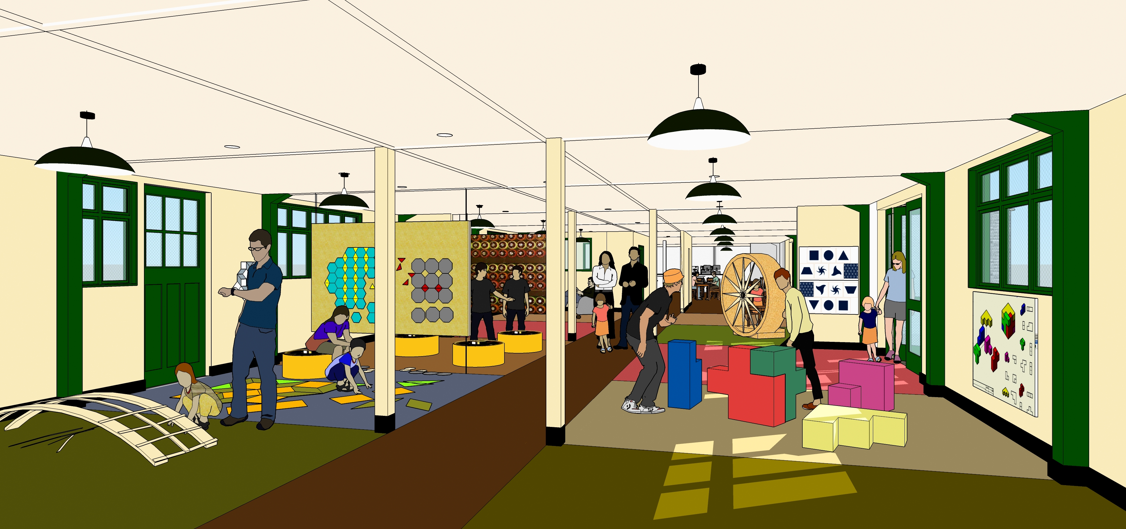 Hut 4 Interior