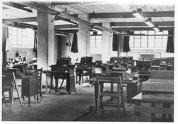 Block C wartime use as computer hall
