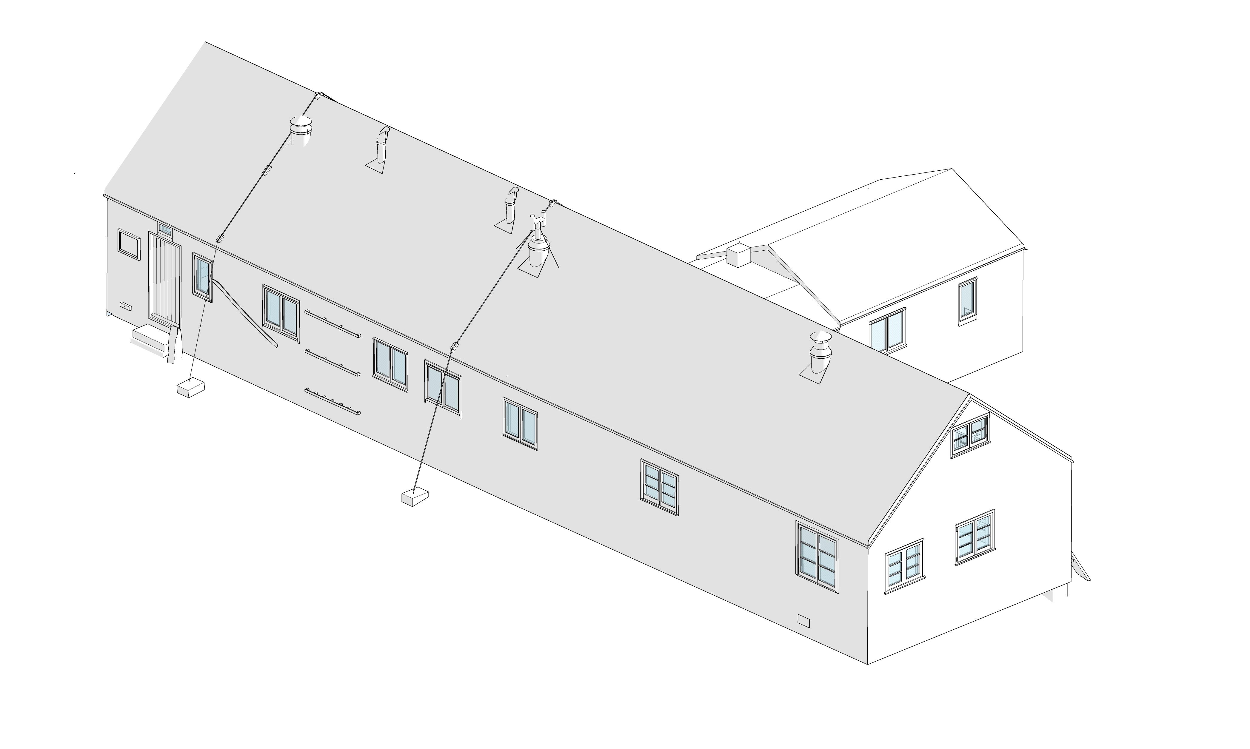 View of BIM model