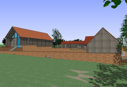 Proposed outbuilding