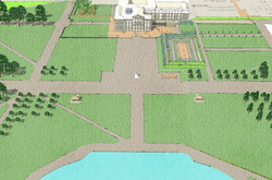 Reinstate connection to gardens
