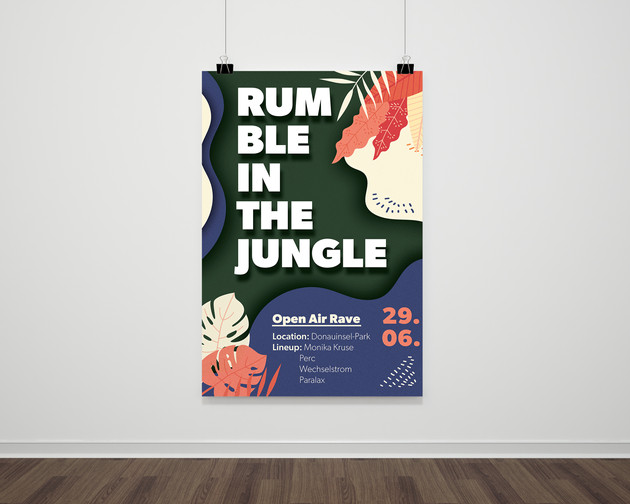 Rumble in the Jungle Poster