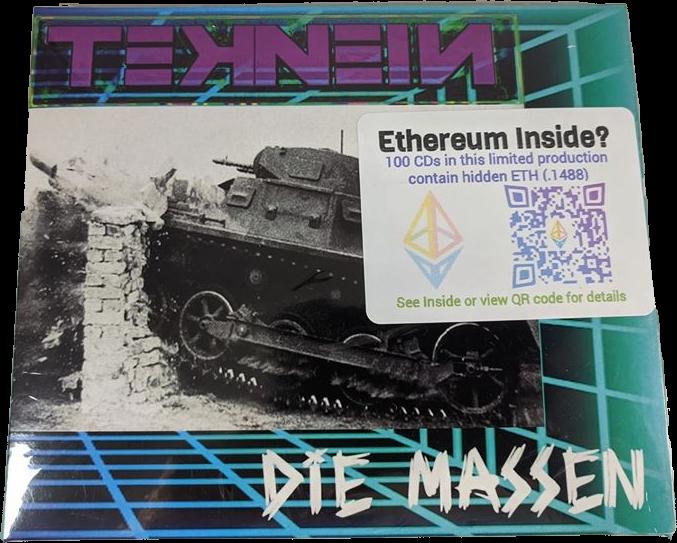 TEKNEIN : Die Massen | Full length debut album (CD)