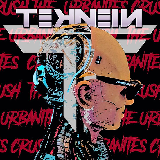 TEKNEIN: Crush the Urbanites EP | sealed album (CD) + signed poster!