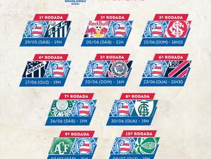 Campeonato Brasileiro: Confira inicio de tabela do Bahia na temporada