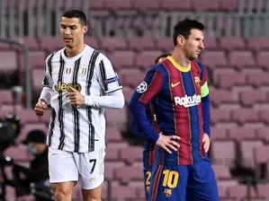 Champions League : Messi e Cristiano Ronaldo eliminados