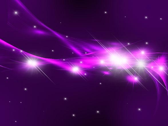 estrelas roxas