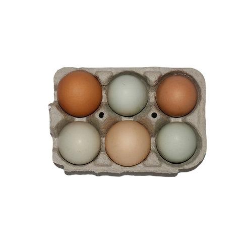 Half Dozen Eggs (6)