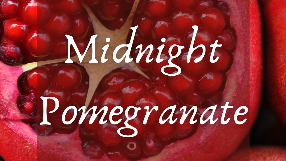 Midnight Pomegranate Scented Salt