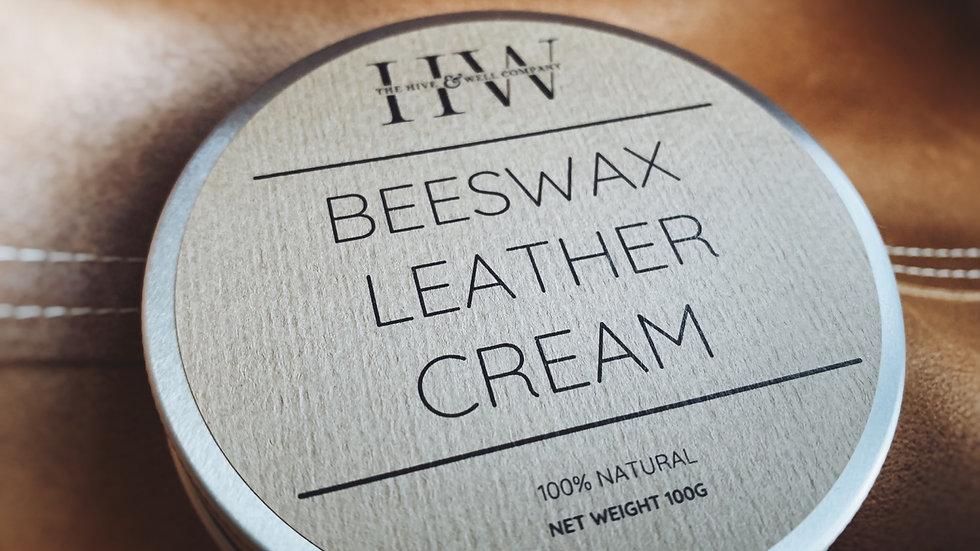 Beeswax Leather Cream