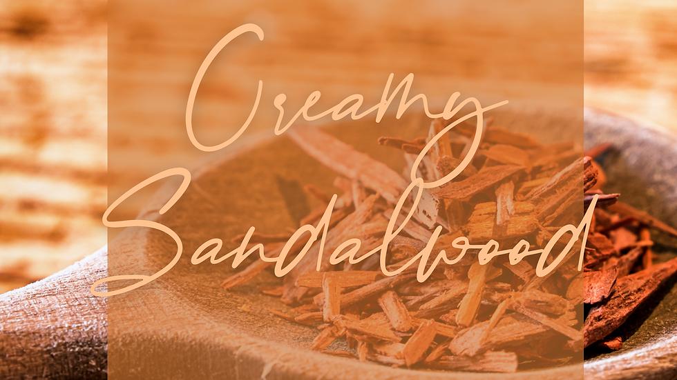 Creamy Sandalwood Wax Brittle