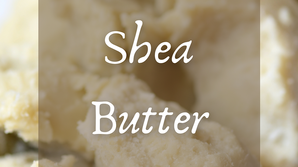 Shea Butter Scented Salt