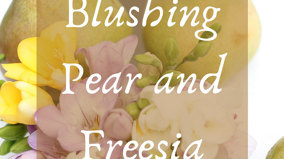 Blushing Pear and Freesia Scented Salt