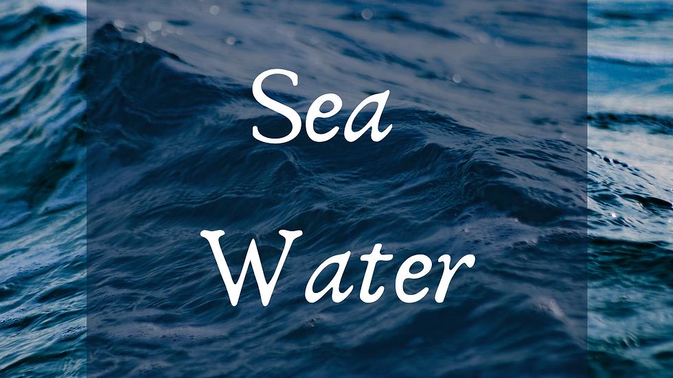 Sea Water Scented Salt