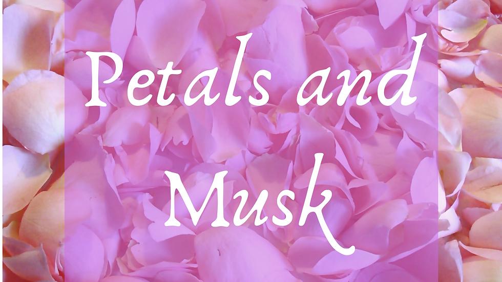 Petals and Musk Scented Salt
